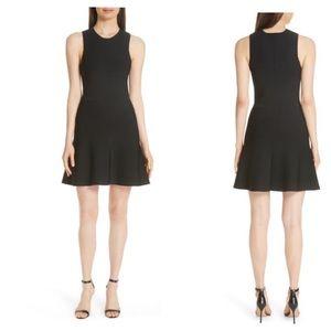 Theory NWT Flare Knit Dress Sz L